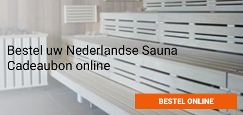 Bestel Nederlandse Sauna Cadeaubon Online