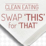 Swap This for That: A Guide to Clean(er) Eating [Infographic]