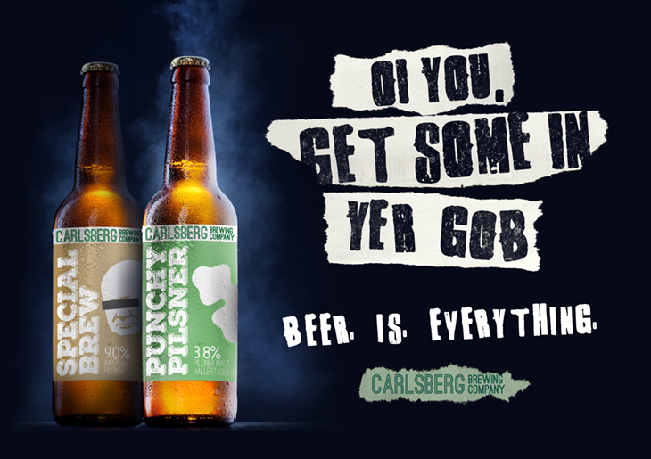 Carlsberg Re-Branded as Craft
