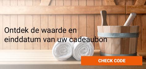 Check Code Nederlandse Sauna Cadeaubon